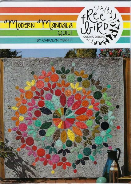 Anleitung Modern Mandala Quilt