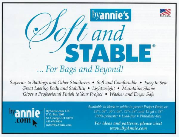 Vlies Soft and Stable by annies