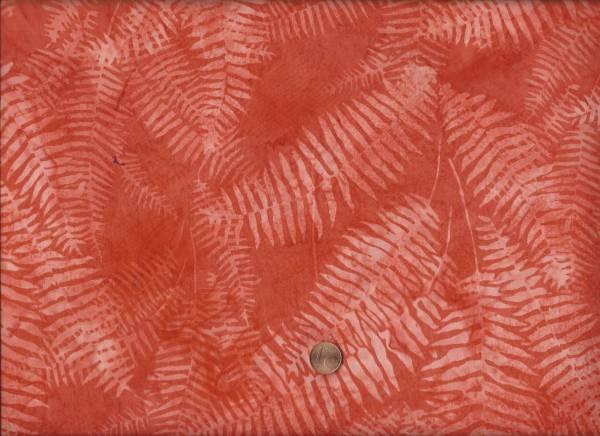 Batik Farn orange