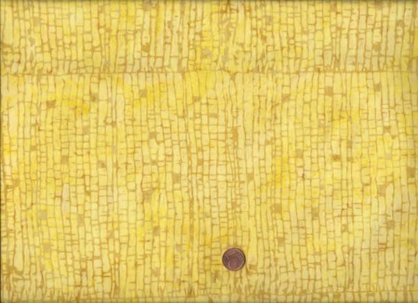 Anthology Batik kl. Quadrate gelb