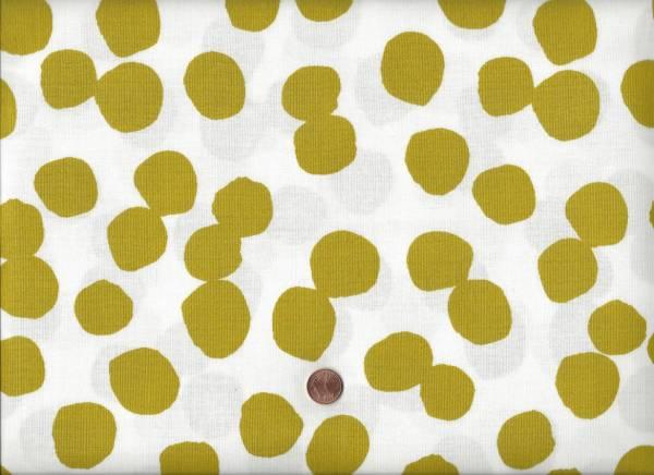 Lotta Jansdotter Lucky Big Dots limone