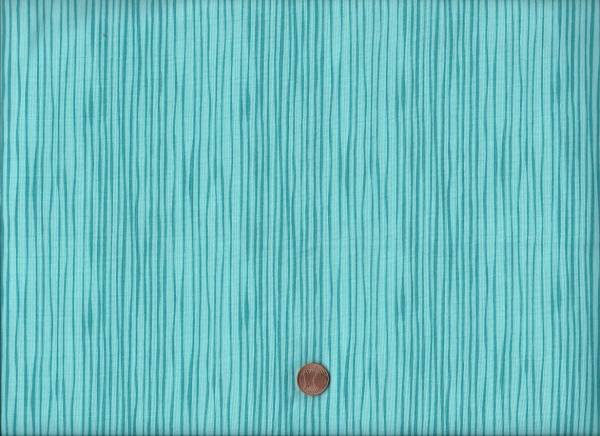 Sea Life Streifen türkis