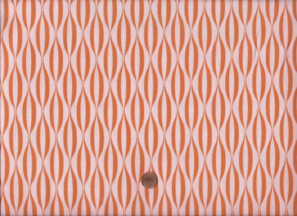 Brigitte Heitland Flow Waves Orange