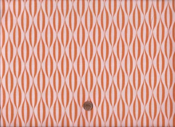 Brigitte Heitland Flow Waves Orange