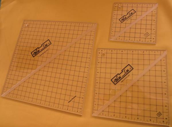 Bloc-Loc Ruler Set 7 Quadrat