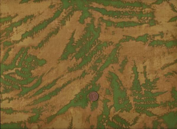Marcia Derse Botanical Fern grün-mais