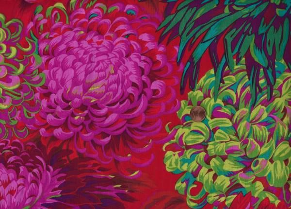 Ph. Jacobs jap. Chrysanthemum pj041 scarlet