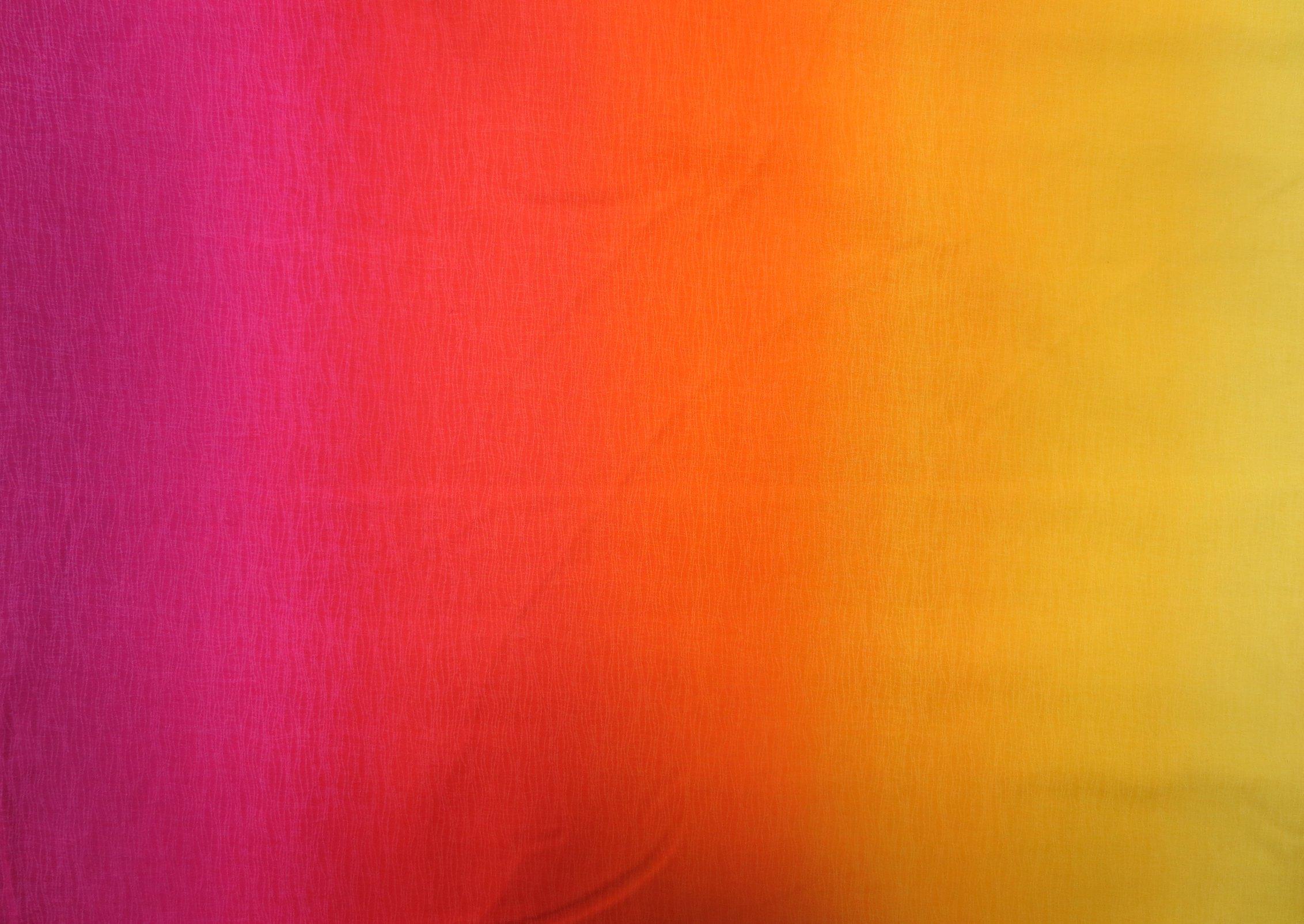 Gelato Farbverlauf gelb orange rot pink farbverläufe Uni Stoffe