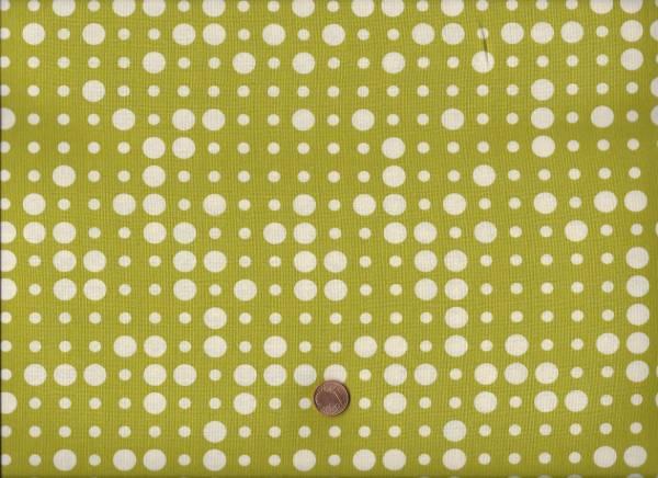 Brigitte Heitland ReelTime Punkte grün-cream