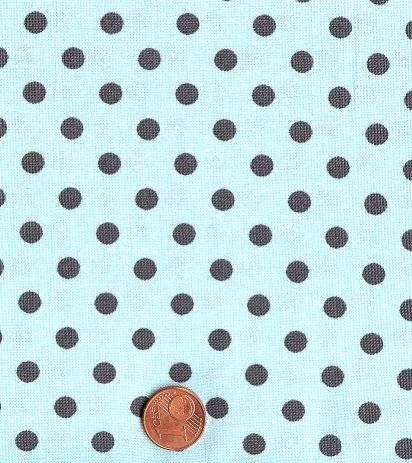 Dumb Dot türkis-grau
