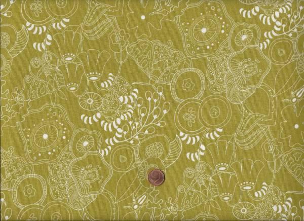 Alison Glass Sun Print Floral grün