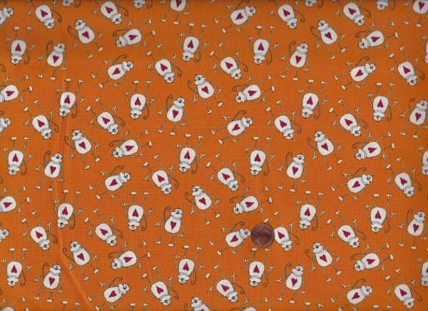 Animal Cracker Monkeys orange