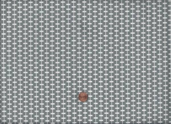 Duo Mini Kette grau-weiß