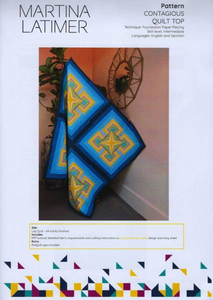 Anleitung Contagious Quilt
