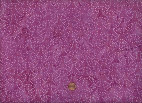 Batik Punkte flieder