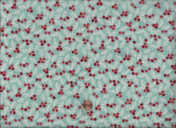 x-mas Juniper Berry Beeren türkis-rot