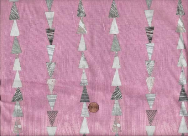 Carrie Bloomston Dreamer Dreiecke rosa