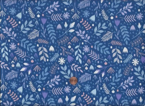 Floral Spender Leafy Blue