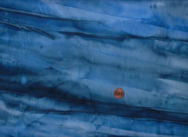 Batik Farbverlauf d.blau