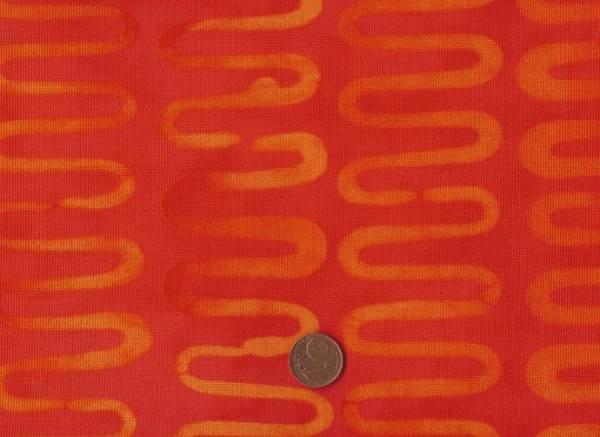 Malka Dubrawsky Poems Welle orange rot