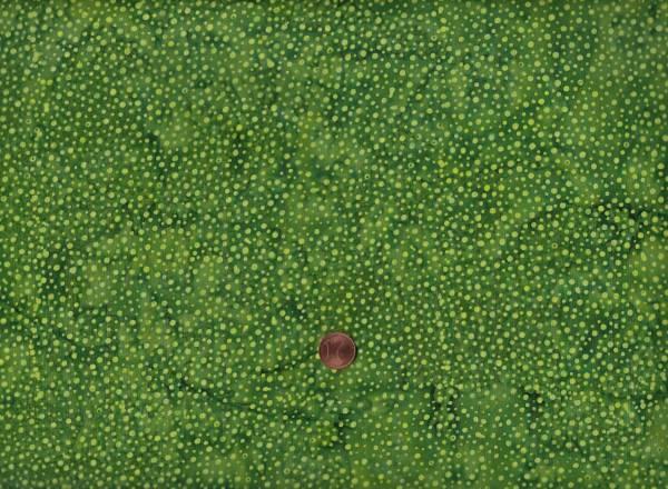 Batik Dots 222 grün