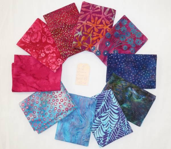 Stoffpäckchen Batik 29 FQ