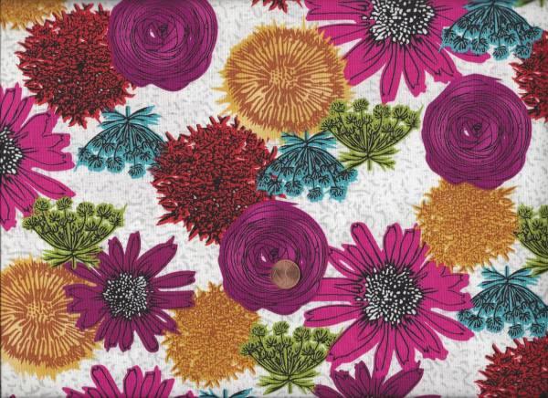 Makers Home Blüten weiß-pink-bunt