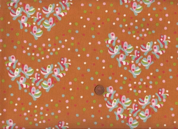 Yay Day Bio-Baumwolle Schmetterlinge orange-bunt
