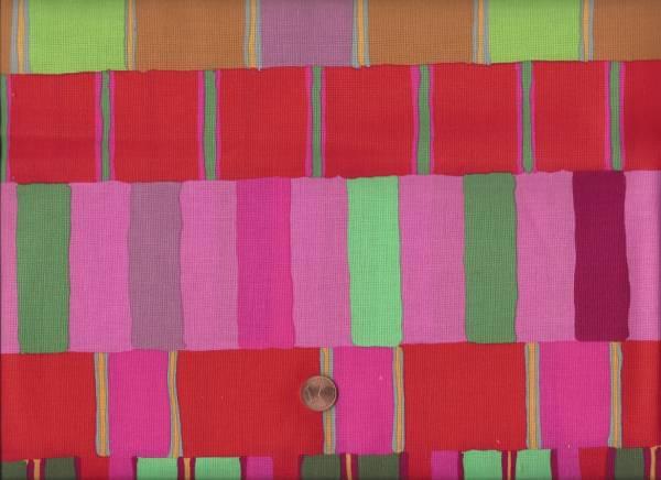 Kaffe Fassett Artisan Layered Stripe red