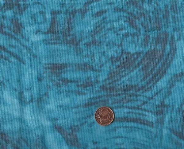 Marcia Derse Mosaic Swirl blue