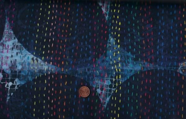 Marcia Derse Digitalprint Curiosity Blue Circles