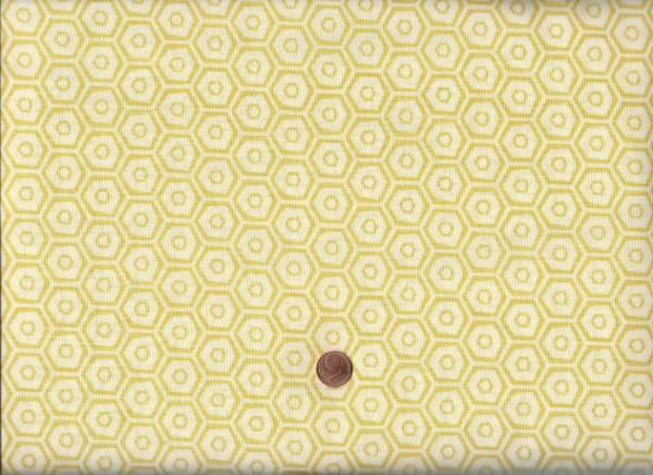 Market Road cream-gelb Hexagon