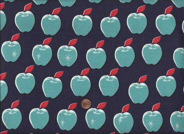 Picnic Apples navy