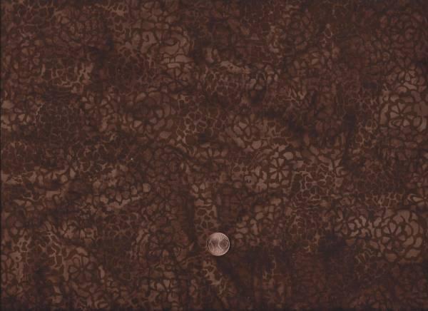 Bali Batik Crackle braun