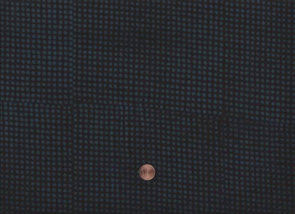 Batik Punkte schwarz-grau