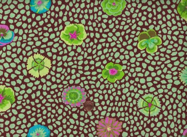 K. Fassett Guinea Flower gp59 green