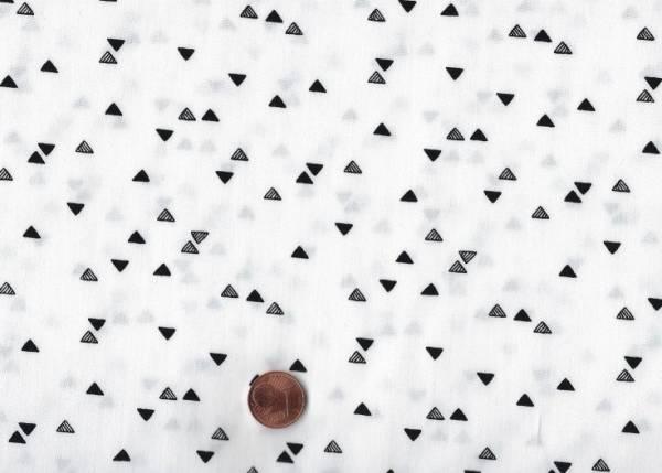 Capsules Pine Lullaby Dreiecke cream-schwarz