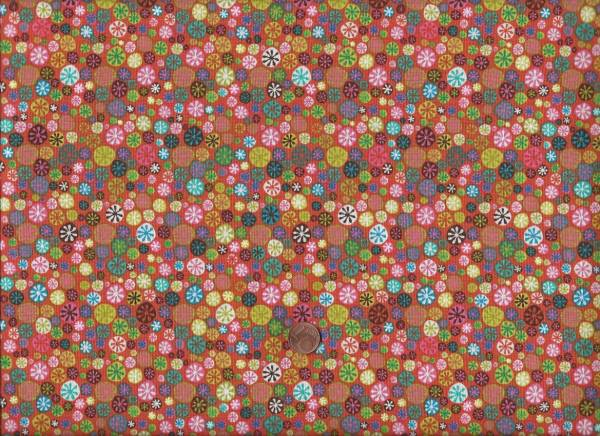 Nod to Mod Dots coralle-bunt