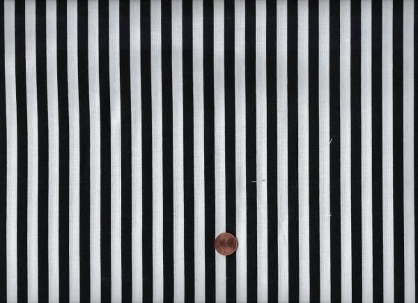 Clown Stripe white-black