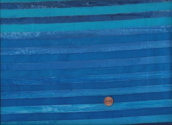 Batik Elements Streifen ocean