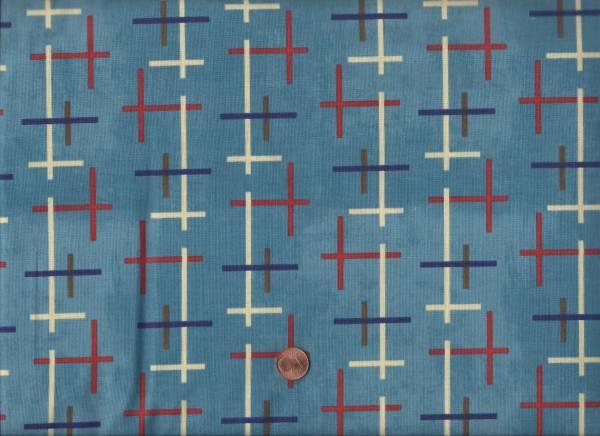 Summerland Kreuze blaurot