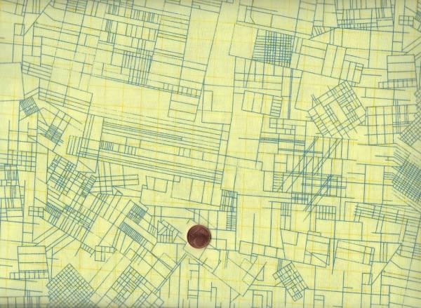 Carolyn Friedlander CF Yellow Blueprint