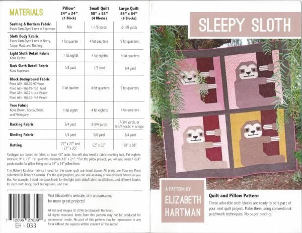 Anleitung Sleepy Sloth (Faultier)
