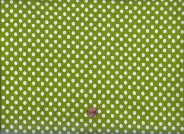Jersey Punkte grün-weiß