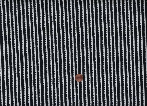 Hedgerows schwarz-weiß
