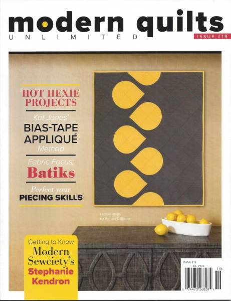 Modern Quilts unlimited Issue #19