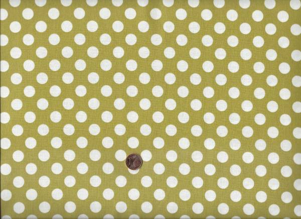 Polka Dot bright olive g6