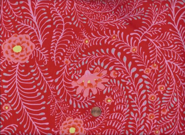 Kaffe Fassett Ferns gp147 red