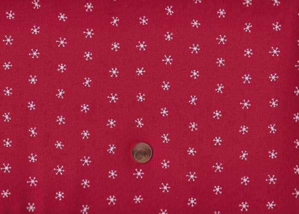 Merriment Gingiber Snowflakes Red