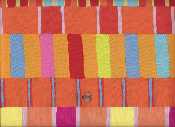 Kaffe Fassett Layered Stripe orange
